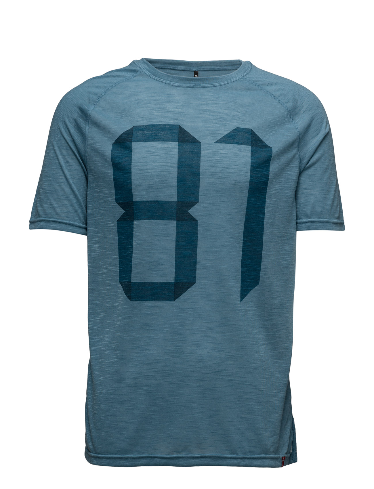 Imotion Logo Tee Newline Løbe t-shirts til Herrer i Himmelblå