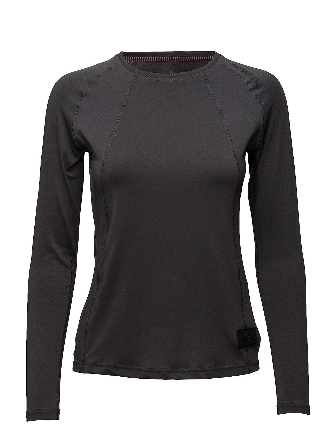 Black Airflow Shirt Newline Sports toppe til Damer i Mørkegrå