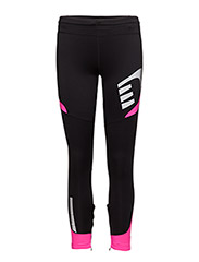 Visio Winter Tights - BLACK/FLUO PINK