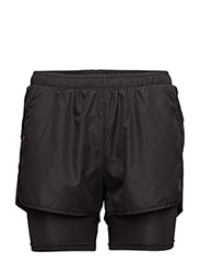 Base 2 Layer Shorts - BLACK