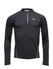 Base Zip Shirt - BLACK