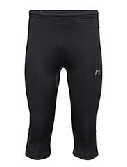 Base Dry N Comfort Knee Tights - BLACK