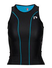 Triathlon Top - BLACK/BLUE