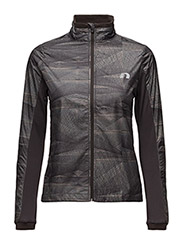 Imotion Printed Cross Jacket - CHOCOLATE SHADES