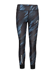 Imotion Printed Warm Tights - PRINTED THUNDER SKY