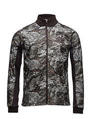 Imotion Printed Cross Jacket - GRANITE