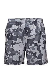 Imotion Printed Shorts - CONCRETE CAMO PRINT