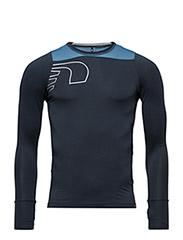 Iconic Vent Stretch Shirt - DARK SHALE/ SKY BLUE/CLOUDY
