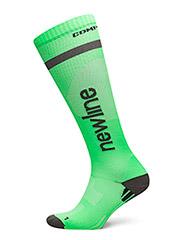 Compression Sock - NEON GREEN