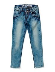 HOLLYWOOD COATED DENIM -21 - LIGHT BLUE