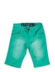 HAVANA SHORTS SOLID - GREEN ASH