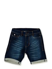 DARWIN SWEAT SHORTS - BLUE DENIM