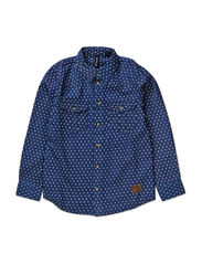 LECK LONG SLEEVE SHIRT - DENIM