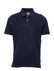 Quince Polo 3306 - NAVY BLUE