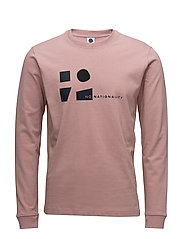 Winston LS Tee 3348 - LIGHT HEATHER
