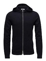 Full zip hoodie 6240 - NAVY BLUE