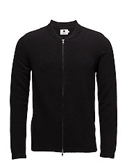 Jake full zip 6259 - BLACK