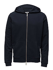 Davide zip hoodie 3355 - NAVY BLUE