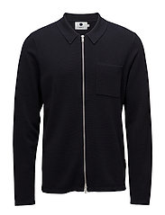 Milano full zip 6240 - NAVY BLUE