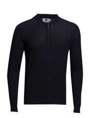 Jake full zip 6120 - Navy Blue