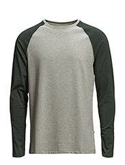 Pima Raglan 3219 - Bottle Green