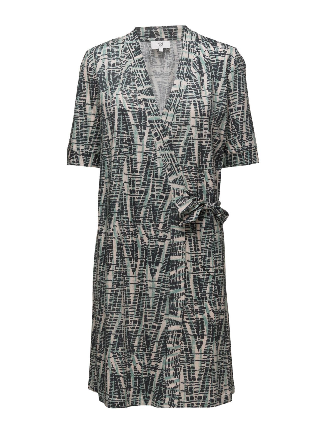 Dress Short Sleeve Noa Noa Korte kjoler til Damer i Print Green