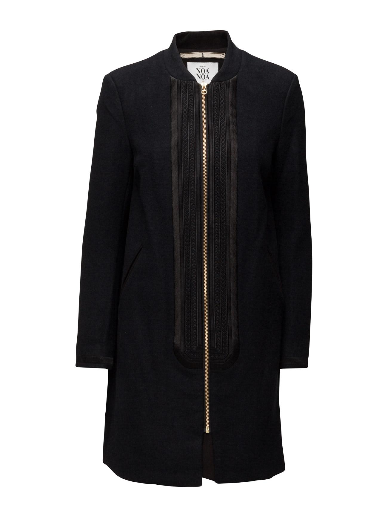 Light Outerwear Noa Noa Frakker til Kvinder i Mørk Navy