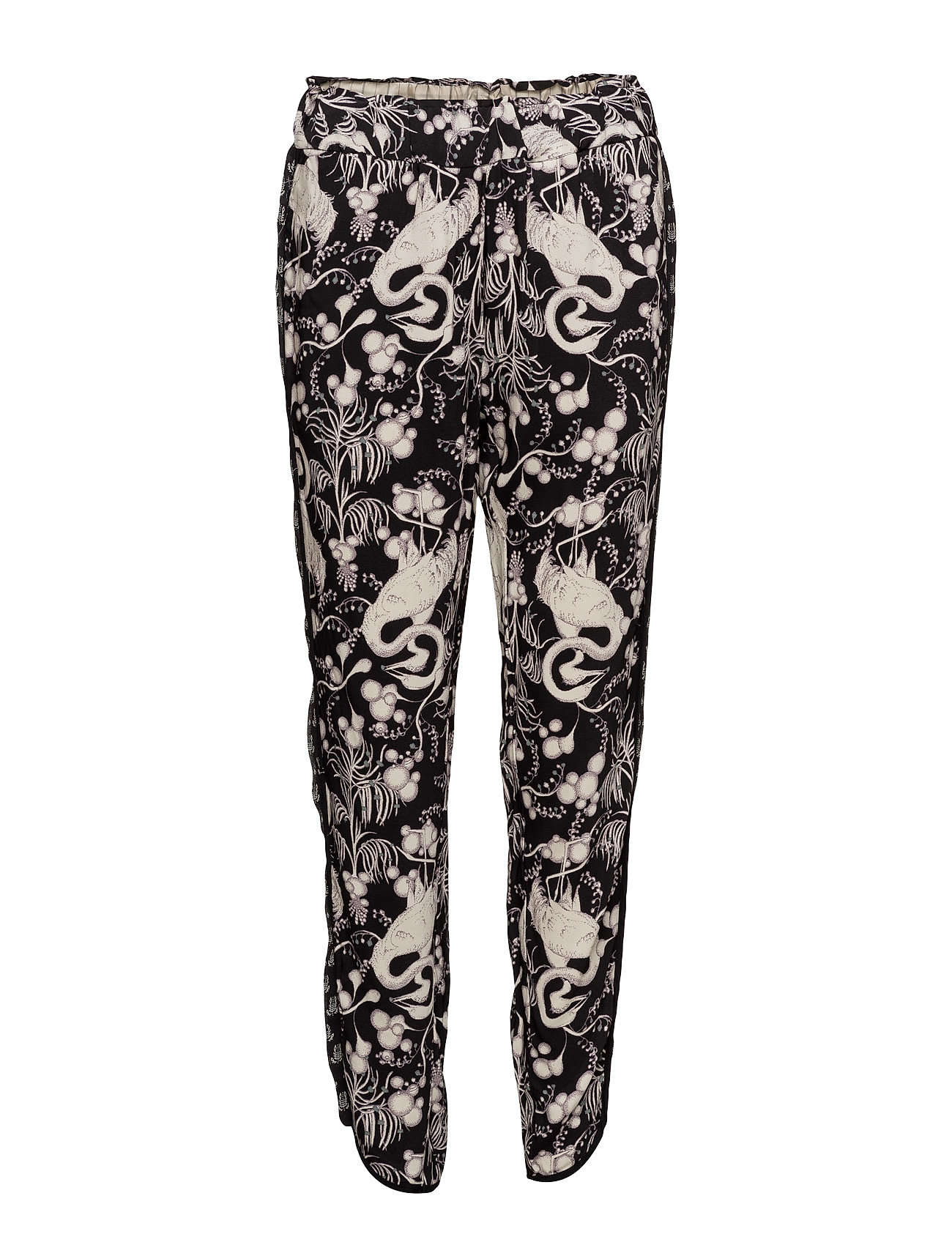 Trousers Noa Noa Casual bukser til Damer i Print Black