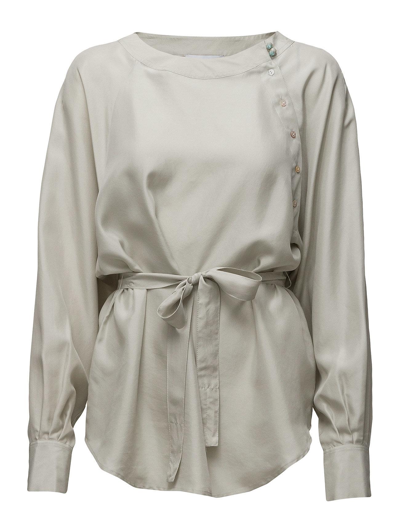 Shirt Noa Noa Langærmede til Kvinder i Mineral Gray