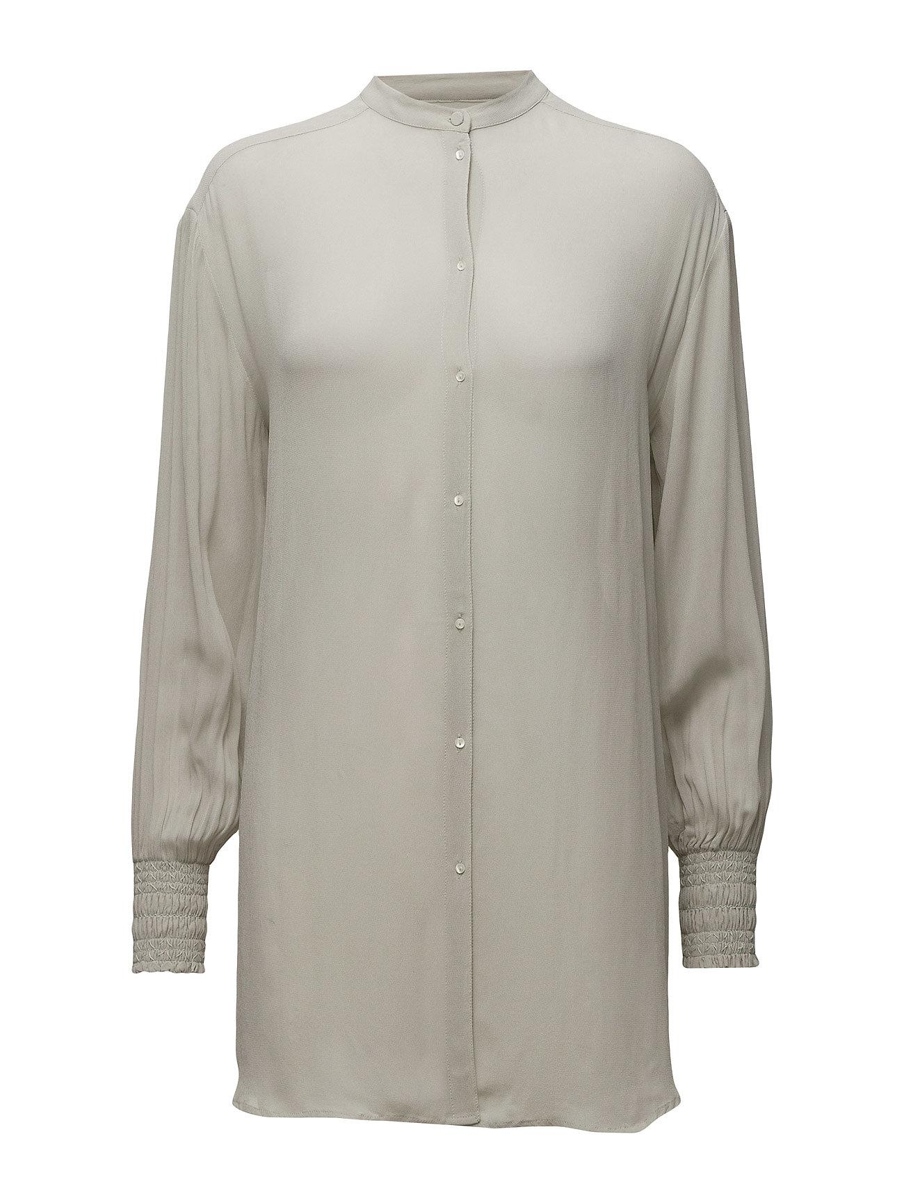 Shirt Noa Noa Langærmede til Damer i Mineral Gray