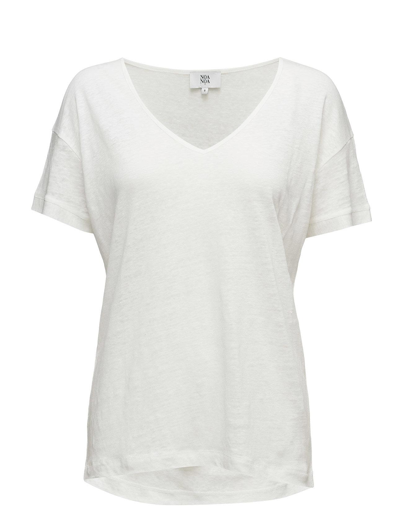 T-Shirt Noa Noa T-shirts & toppe til Kvinder i Cloud Dancer