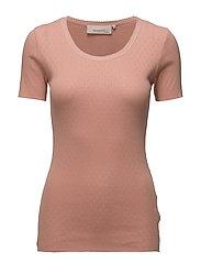 T-shirt - CAMEO BROWN