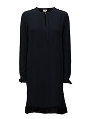 Dress long sleeve - DARK NAVY