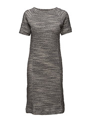 Dress short sleeve - GREY MELANGE