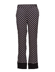 Trousers - PRINT GREY