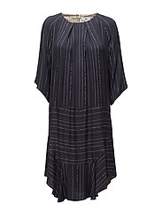 Dress long sleeve - PRINT GREY