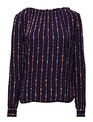Blouse - PRINT PURPLE