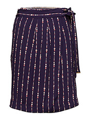 Skirt - PRINT PURPLE