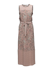 Dress sleeveless - PRINT NUDE