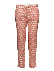Trousers - ART RED