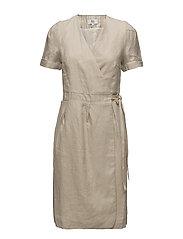 Dress short sleeve - SILVER CLOUD