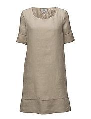 Dress long sleeve - SILVER CLOUD