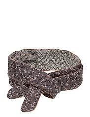 Belts - PRINT PURPLE