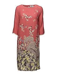 Dress long sleeve - PRINT ORANGE