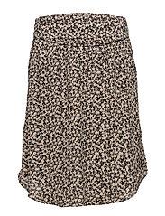 Skirt - PRINT BLACK
