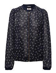 Jacket - PRINT BLUE