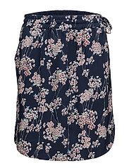 Skirt - PRINT BLUE