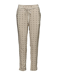 Trousers - PRINT OFF WHITE