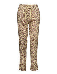 Trousers - PRINT YELLOW