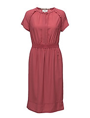 Dress short sleeve - BAROQUE ROSE